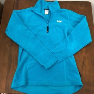 Helly Hansen blue full zip fleece